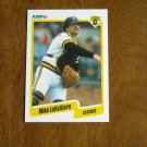 Mike LaValliere Pittsburgh Pirates Catcher Card No. 473 (BC473) 1990 Fleer Baseball Card