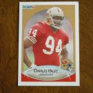 Charles Haley San Francisco 49ers Linebacker Card No 7 - 1990 Fleer Football Card