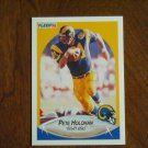 Pete Holohan Los Angeles Rams Tight End Card No 39 - 1990 Fleer Football Card