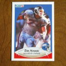 Erik Howard New York Giants Defensive Lineman Card No 68 - 1990 Fleer Football Card