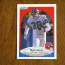 Mark Kelso Buffalo Bills Defensive Back Card No 115 - 1990 Fleer Football Card