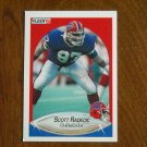 Scott Radecic Buffalo Bills Linebacker Card No 118 - 1990 Fleer Football Card
