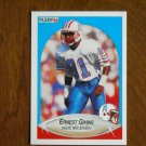 Ernest Givins Houston Oilers Wide Receiver Card No 127 - 1990 Fleer Football Card