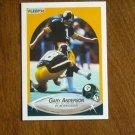 Gary Anderson Pittsburgh Steelers Placekicker Card No 139 - 1990 Fleer Football Card