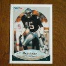 Mike Harden Los Angeles Raiders Defensive Back Card No 255 - 1990 Fleer Football Card