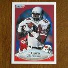 J. T. Smith Phoenix Cardinals Wide Receiver Card No 340 - 1990 Fleer Football Card