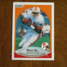 Bruce Hill Tampa Bay Buccaneers Wide Receiver Card No 348 - 1990 Fleer Football Card