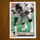 Jessie Tuggle Atlanta Falcons Linebacker No 324 - 1992 Upper Deck Football Card