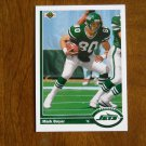 Mark Boyer New York Jets Tight End Card No 507 - 1991 Upper Deck Football Card