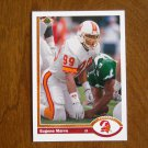 Eugene Marve Tampa Bay Buccaneers Linebacker Card No 508 (FB508) 1991 Upper Deck Football Card