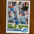 Robert Clark Detroit Lions Wide Receiver Card No. 511 - 1991 Upper Deck Football Card
