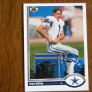 Ken Willis Dallas Cowboys Kicker Card No. 514 - 1991 Upper Deck Football Card