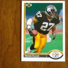 Thomas Everett Pittsburgh Steelers Safety Card No. 518 - 1991 Upper Deck Football Card