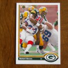 Robert Brown Green Bay Packers Defensive End Card No. 519 - 1991 Upper Deck Football Card