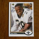 Gene Atkins New Orleans Saints Safety Card No. 520 - 1991 Upper Deck Football Card