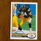 Hardy Nickerson Pittsburgh Steelers Linebacker Card No. 521 - 1991 Upper Deck Football Card