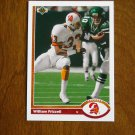 William Frizzell Tampa Bay Buccaneers Safety Card No. 523 - 1991 Upper Deck Football Card