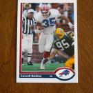 Carwell Gardner Buffalo Bills Running Back Card No. 526 - 1991 Upper Deck Football Card
