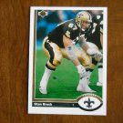 Stan Brock New Orleans Saints Tackle Card No. 532 - 1991 Upper Deck Football Card