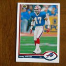 Kirby Jackson Buffalo Bills Cornerback Card No. 533 (FB533) 1991 Upper Deck Football Card