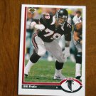 Bill Fralic Atlanta Falcons Guard Card No. 535 - 1991 Upper Deck Football Card