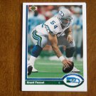 Grant Feasel Seattle Seahawks Center Card No. 538 - 1991 Upper Deck Football Card