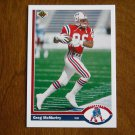 Greg McMurtry New England Patriots Wide Receivers Card No. 546 - 1991 Upper Deck Football Card
