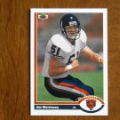 Jim Morrissey Chicago Bears Linebacker Card No. 547 (FB547) 1991 Upper Deck Football Card