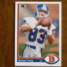 Michael Young Denver Broncos Wide Receiver Card No. 553 - 1991 Upper Deck Football Card