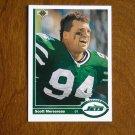Scott Mersereau New York Jets Defensive Tackle Card No. 559 (FB559) 1991 Upper Deck Football Card
