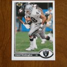 Lionel Washington Los Angeles Raiders Cornerback Card No. 560 - 1991 Upper Deck Football Card