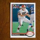 Brian Brennan Cleveland Browns Wide Receiver Card No. 561 - 1991 Upper Deck Football Card