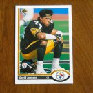David Johnson Pittsburgh Steelers Cornerback No. 564 - 1991 Upper Deck Football Card