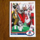 Danny Villa New England Patriots Tackle Card No. 565 - 1991 Upper Deck Football Card