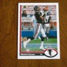 Michael Haynes Atlanta Falcons Wide Receiver Card No. 567 - 1991 Upper Deck Football Card