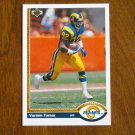 Vernon Turner Los Angeles Rams Wide Receiver Card No. 571 - 1991 Upper Deck Football Card