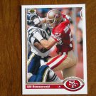 Bill Romanowski San Francisco 49ers Linebacker Card No. 576 - 1991 Upper Deck Football Card