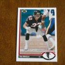 Tim McKyer Atlanta Falcons Cornerback Card No. 580 - 1991 Upper Deck Football Card