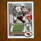 Eric Hill Phoenix Cardinals Linebacker Card No. 587 - 1991 Upper Deck Football Card