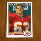 Bill Maas Kansas City Chiefs Defensive End Card No. 592 - 1991 Upper Deck Football Card