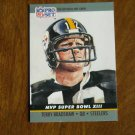 Terry Bradshaw QB Steelers MVP Super Bowl XIII Card No. 13 (FB13) 1990 Pro Set Football Card