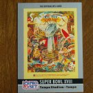 Super Bowl XVIII January 1984 Raiders vs. Redskins Card No. 18 - 1990 Pro Set Football Card