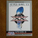 Super Bowl XX January 1986 Bears vs. Patriots Card No. 20 - 1990 Pro Set Football Card