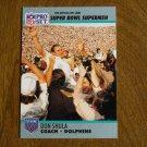 Don Shula Miami Dolphins Coach Super Bowl XXV Supermen No. 30 - 1990 Pro Set Football Card