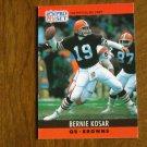 Bernie Kosar Cleveland Browns QB Card No. 72 - 1990 NFL Pro Set Football Card