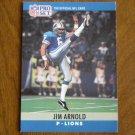 Jim Arnold Detroit Lions P Card No. 95 - 1990 NFL Pro Set Football Card