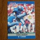 Eddie Murray Detroit Lions K Card No. 101 (FB101) 1990 NFL Pro Set Football Card