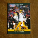 Don Majkowski Green Bay Packers QB Card No. 112 - 1990 NFL Pro Set Football Card