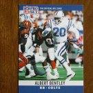 Albert Bentley Baltimore Colts RB Card No. 128 - 1990 NFL Pro Set Football Card