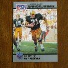 Jim Taylor Green Bay Packers RB Super Bowl XXV Supermen No. 132 - 1990 Pro Set Football Card